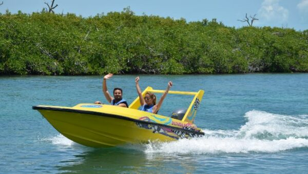 Speed Boat Tour Cancun