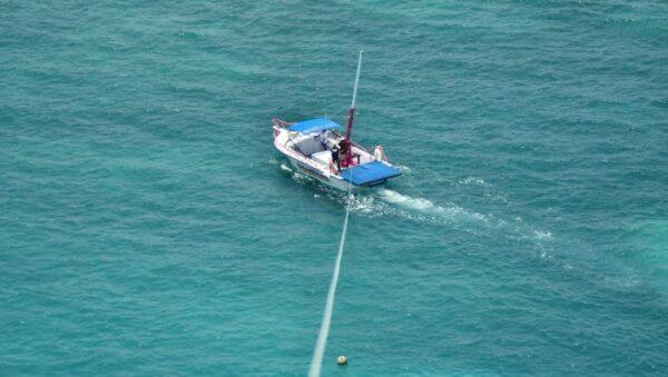 Parasailing in Cancun