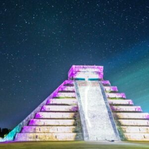 Chichen Itza Light and Sound Show