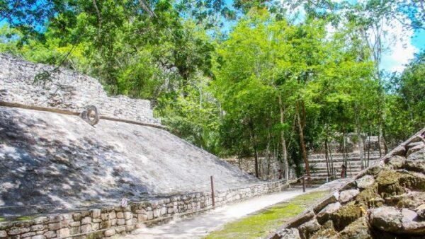 Coba Mayan Temple