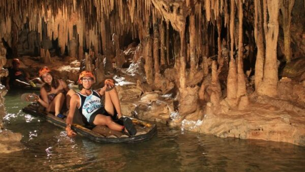 Rafting in Xplor Tour