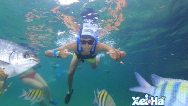 Xelha Snorkeling Tour