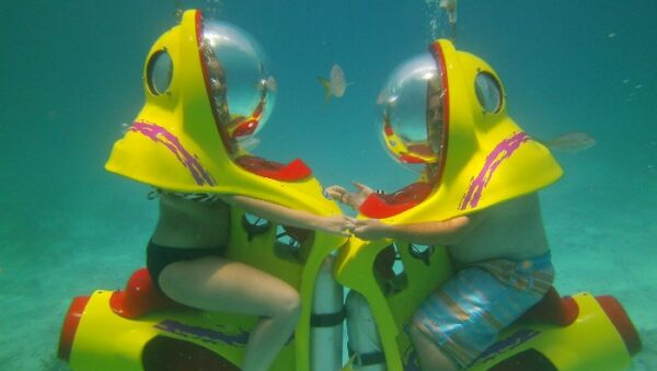 Submarine in Cancun
