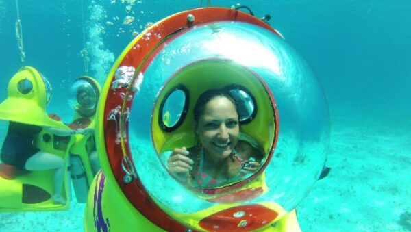 Submarine Tour in Cancun