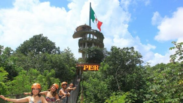 Ziplines in Xplor Park