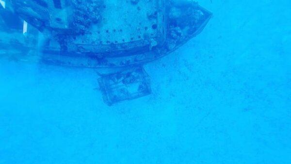 Sunken Ship Cozumel
