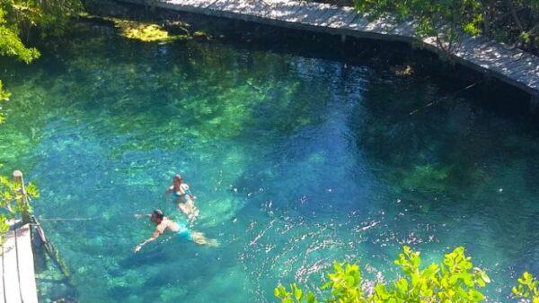 Yalahau Cenote in Holbox